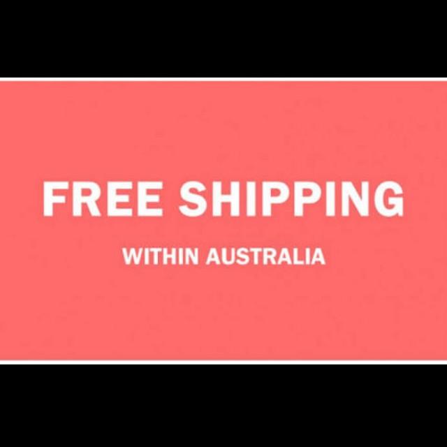 Free Shipping Australia Wide