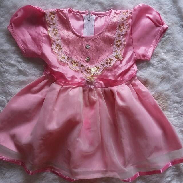 Gaun pink baby
