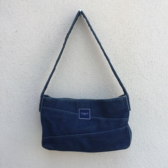 Guess Denim Handbag