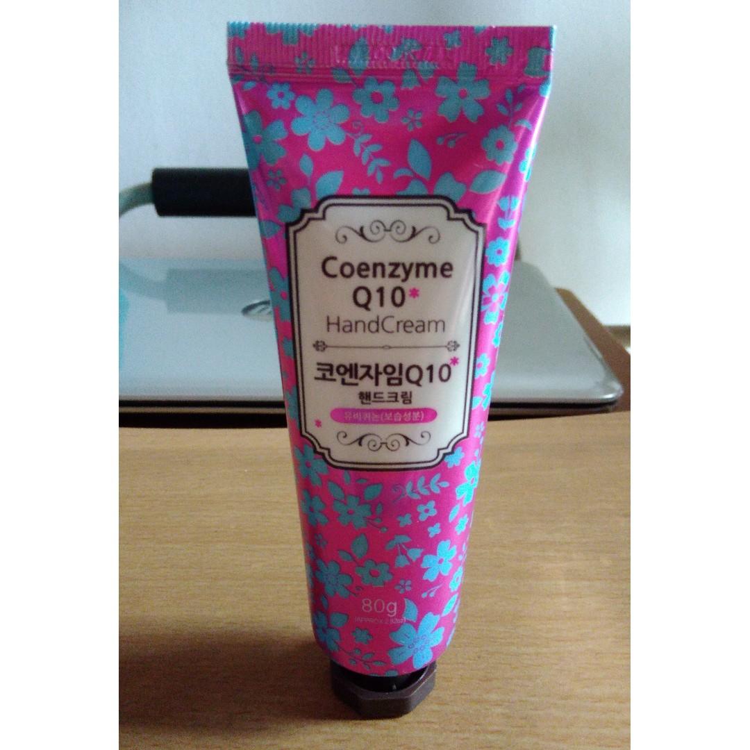 Hand Cream Korea Coenzyme Q10 80g BARU