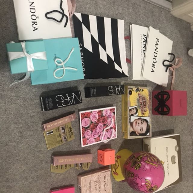 High end makeup boxes and bags