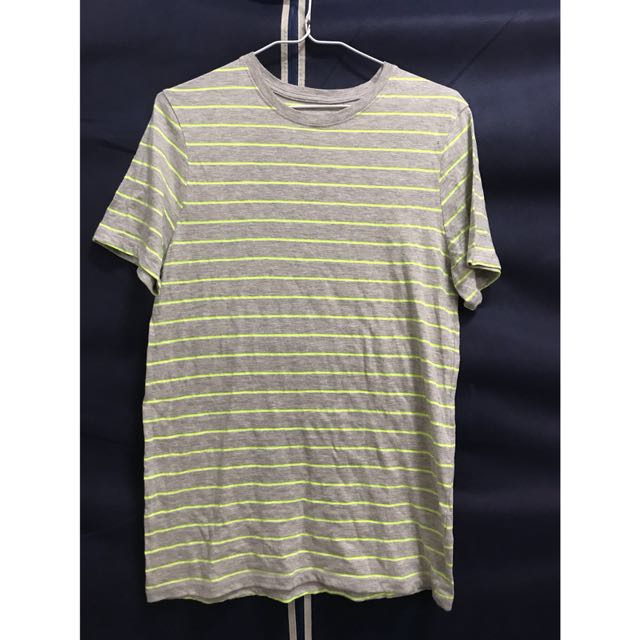 H&M橫條棉質上衣