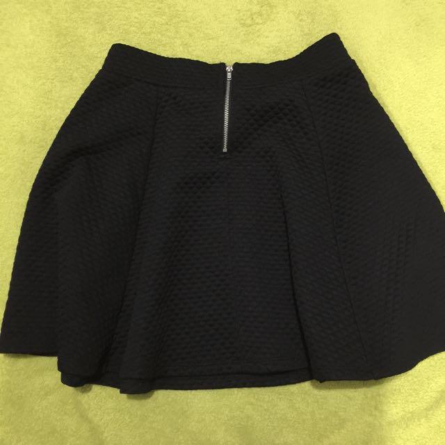 H&M Little Black Skirt