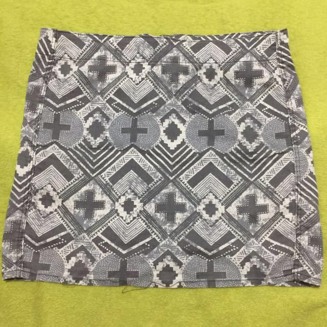 H&M Print Skirt