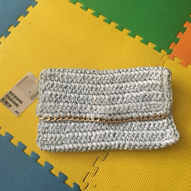 H&M Straw Clutch