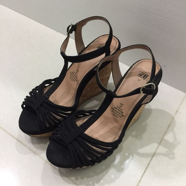 H&M Wedges Size 37