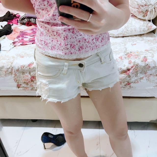 Hotpant jeans