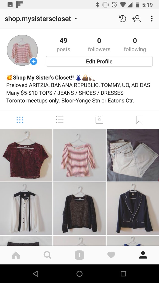 HUGE SALE ON EVERYTHING!!! Visit my Insta shop!