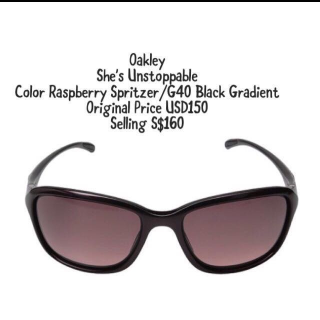a025728127a In Stock Oakley She s Unstoppable