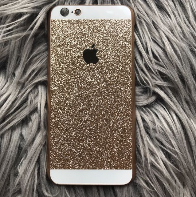 iPhone 6 | Sparkling gold case