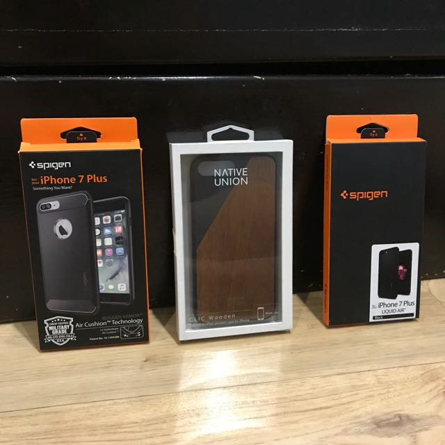 release date 8f926 48a78 iPhone 7/8 Plus Cases (Spigen, Native Union) on Carousell