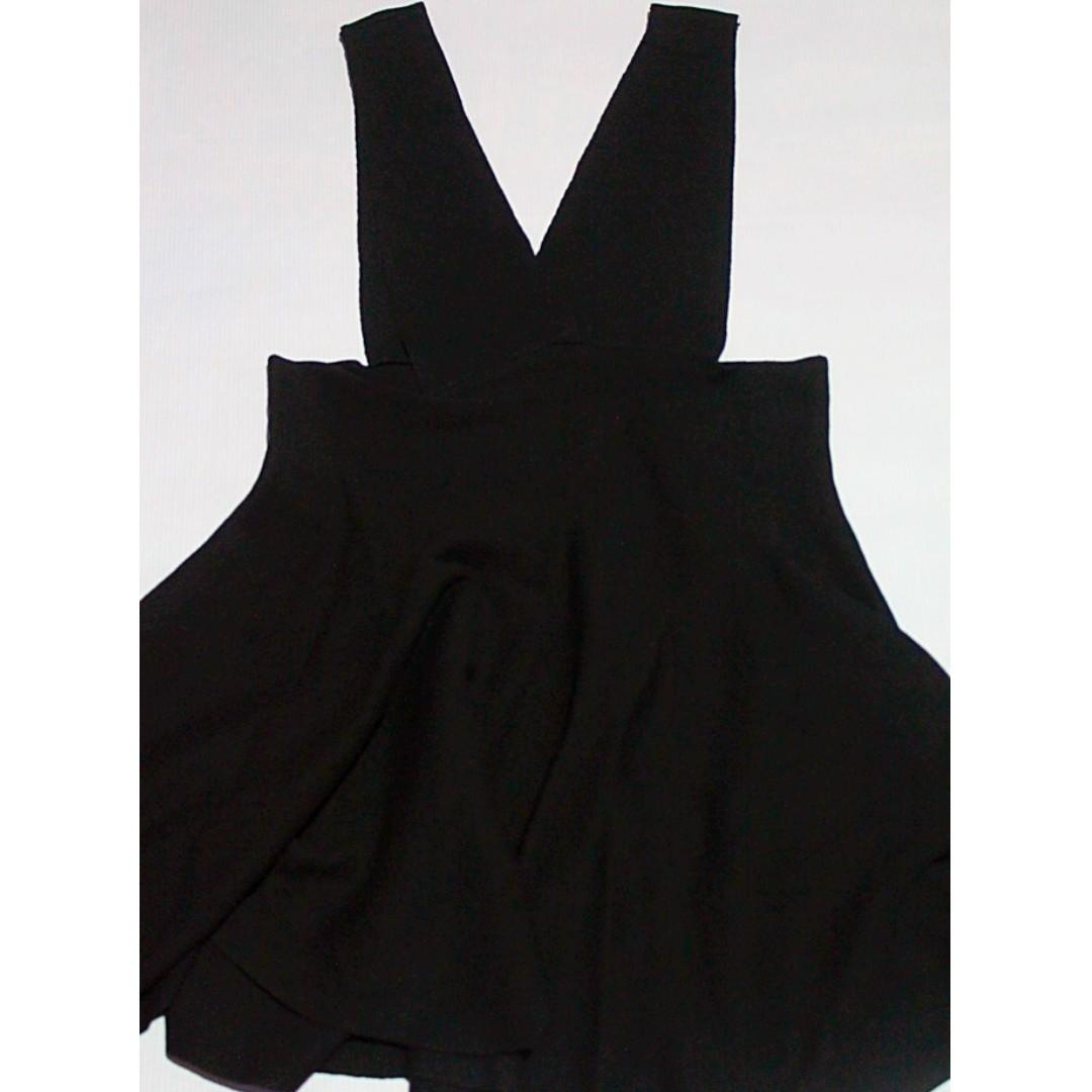 Jumper Skirt (Black)