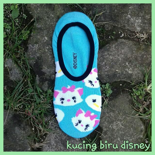 Kaos kaki   hidden socks motif impor