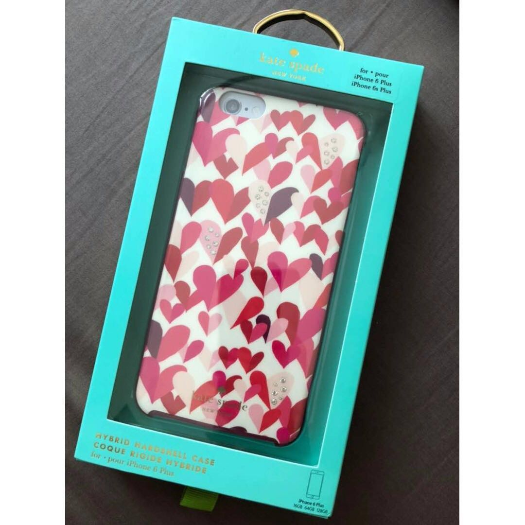 brand new d59d2 19d76 Kate Spade Iphone 6/6s Plus Phone Case Cover