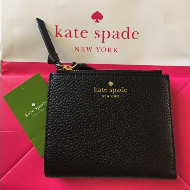 e8a79cddd7862 Kate Spade Small Malea Mulberry Street Double Zipper Wallet