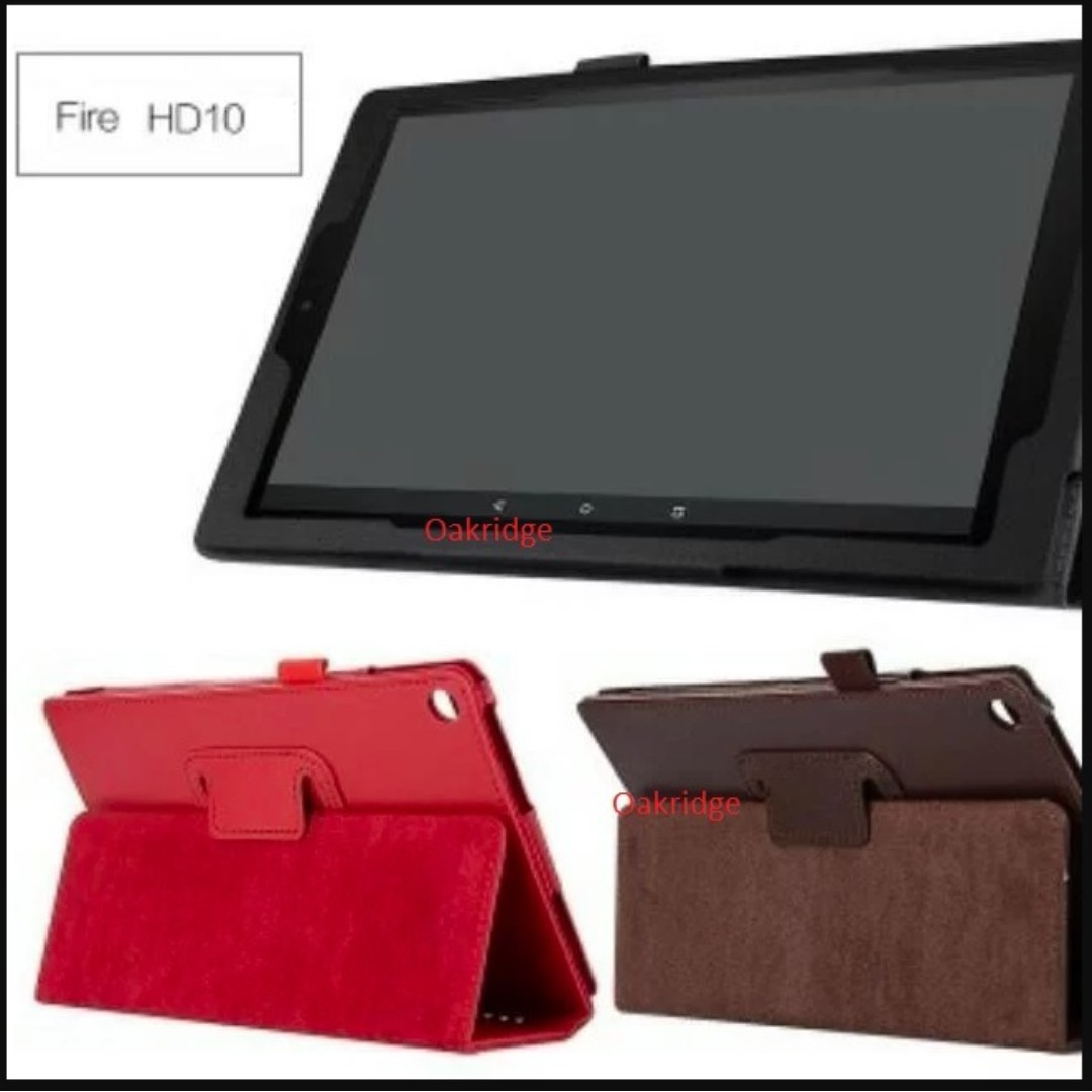 Kindle Fire HD 10 Casing, Screen Protector And Tempered