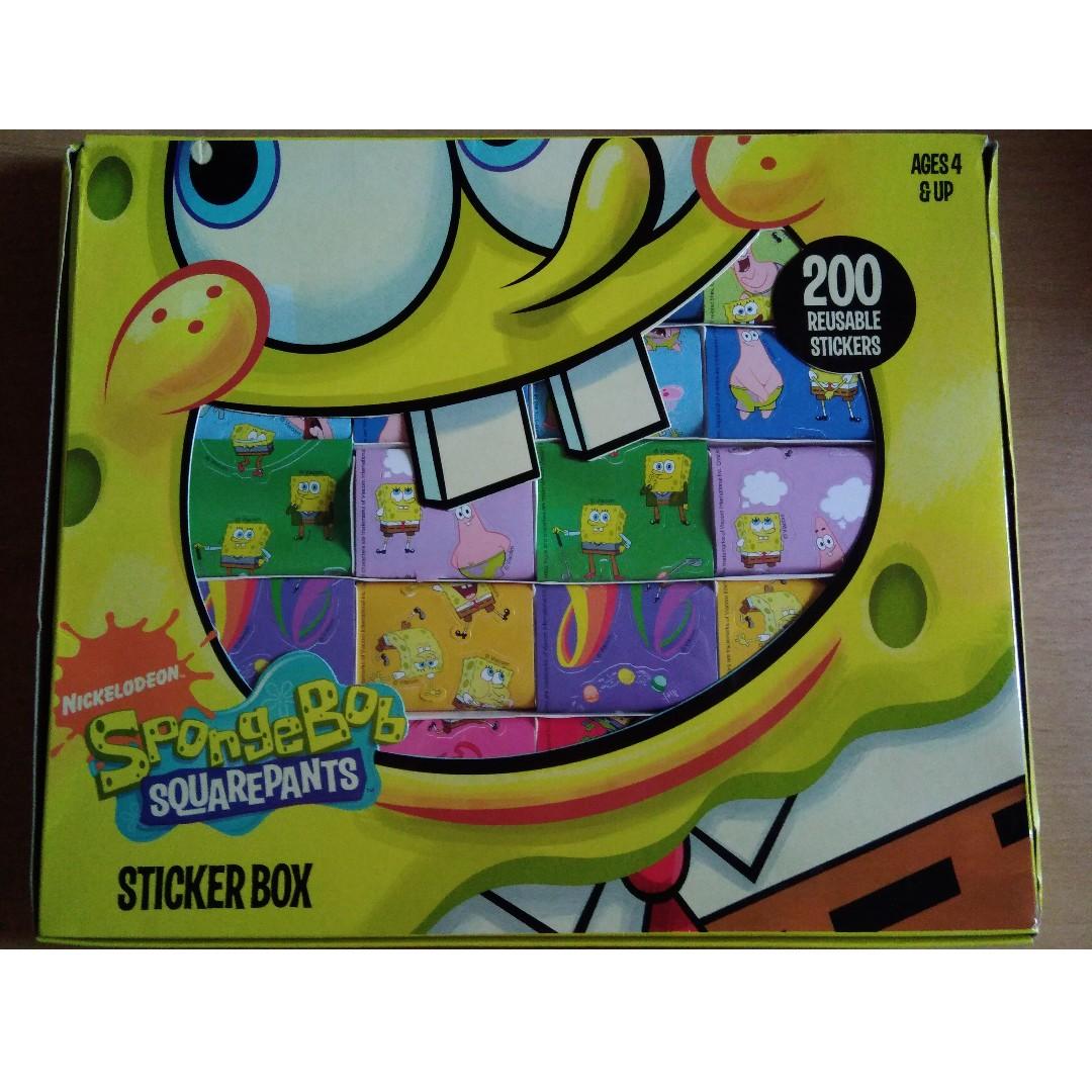 Koleksi Stiker Spongebob Original