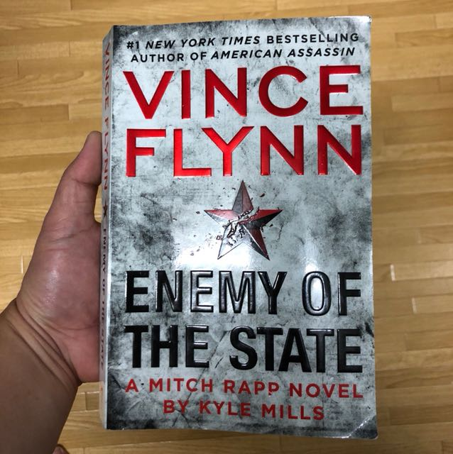 recipe: enemy of the state (a mitch rapp novel) [34]