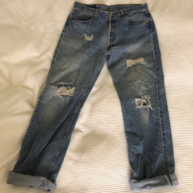 Levi boyfriend jeans