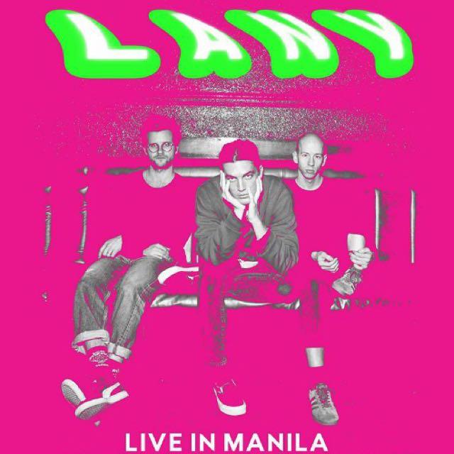 LF: LANY Day 1 GA / Gen Ad Ticket
