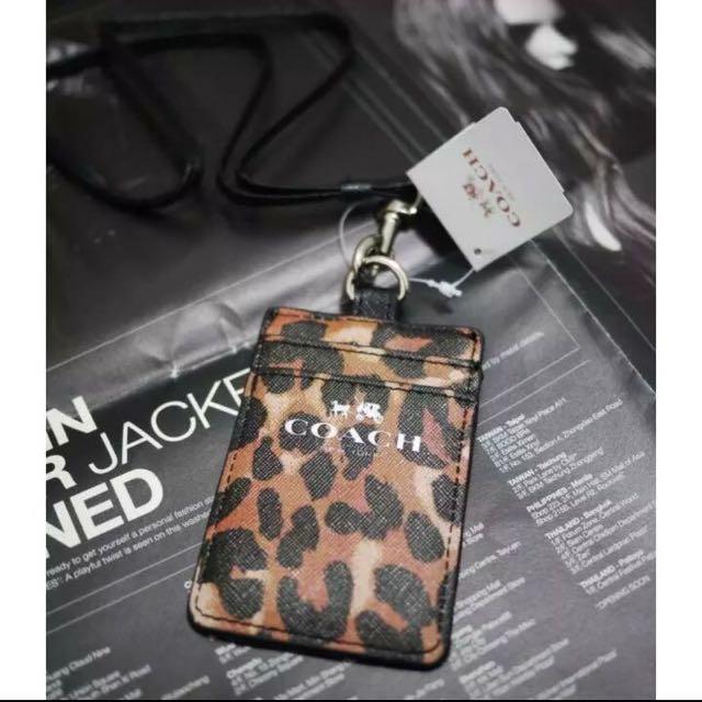 Limited!!! Coach Holder Leopard Premium Import