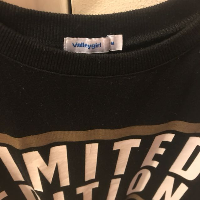 'Limited Edition' Black Tee - Size M