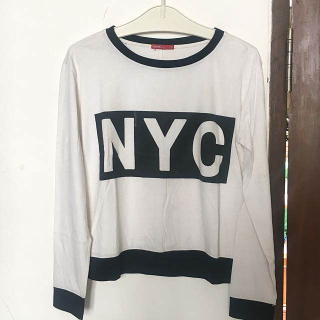 Logo Jeans NYC long sleeve shirt