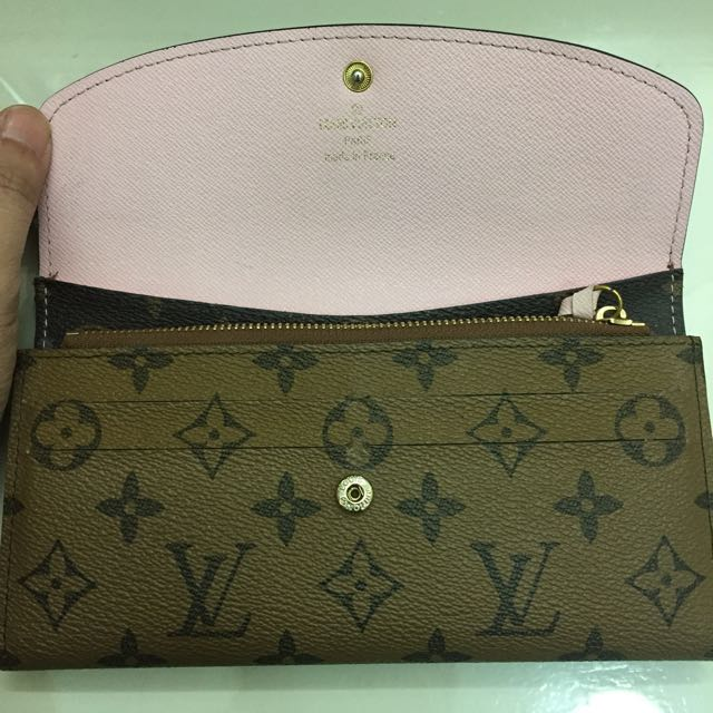 Louis Vuitton Rose Ballerine Wallet Replica