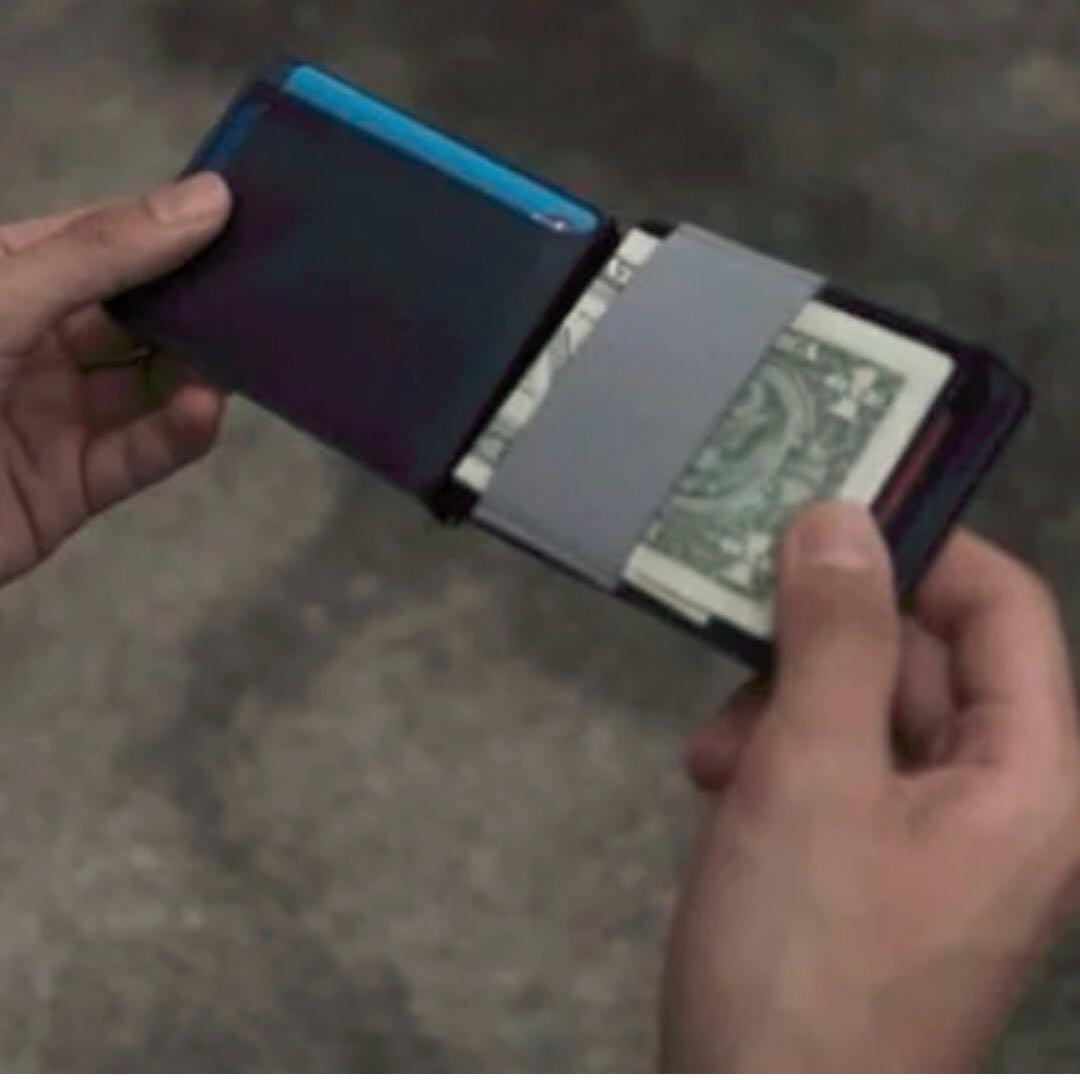 MAG超薄磁吸式皮夾錢包