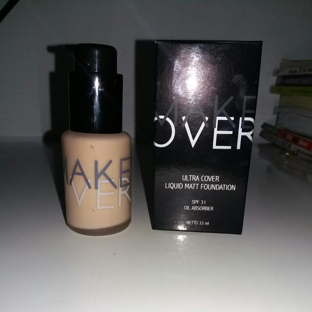 Make Over Foundation Shade Orche