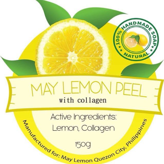 MAY Lemon Soap