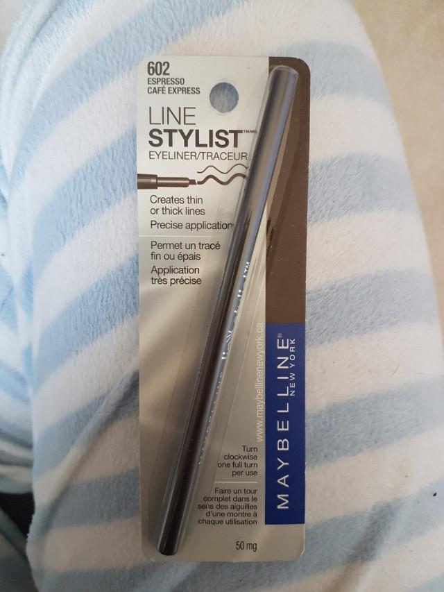"Maybelline Line Stylist Eyeliner ""Espresso"""