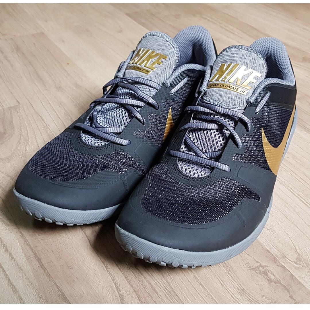 new style bb676 19000 Men Nike Lunar Ultimate TR Black Metallic Gold, Men s Fashion, Footwear on  Carousell