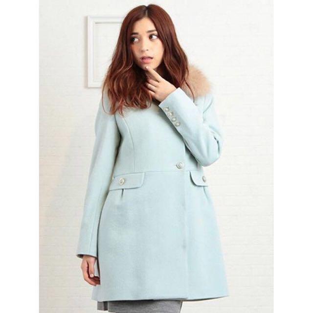 Miia 2015 100%羊毛大衣