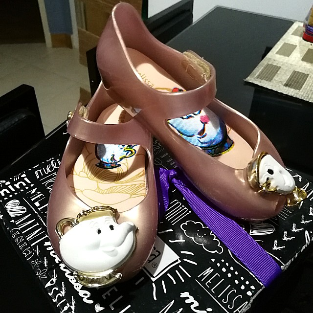 Mini Melissa Beauty and the Beast shoes