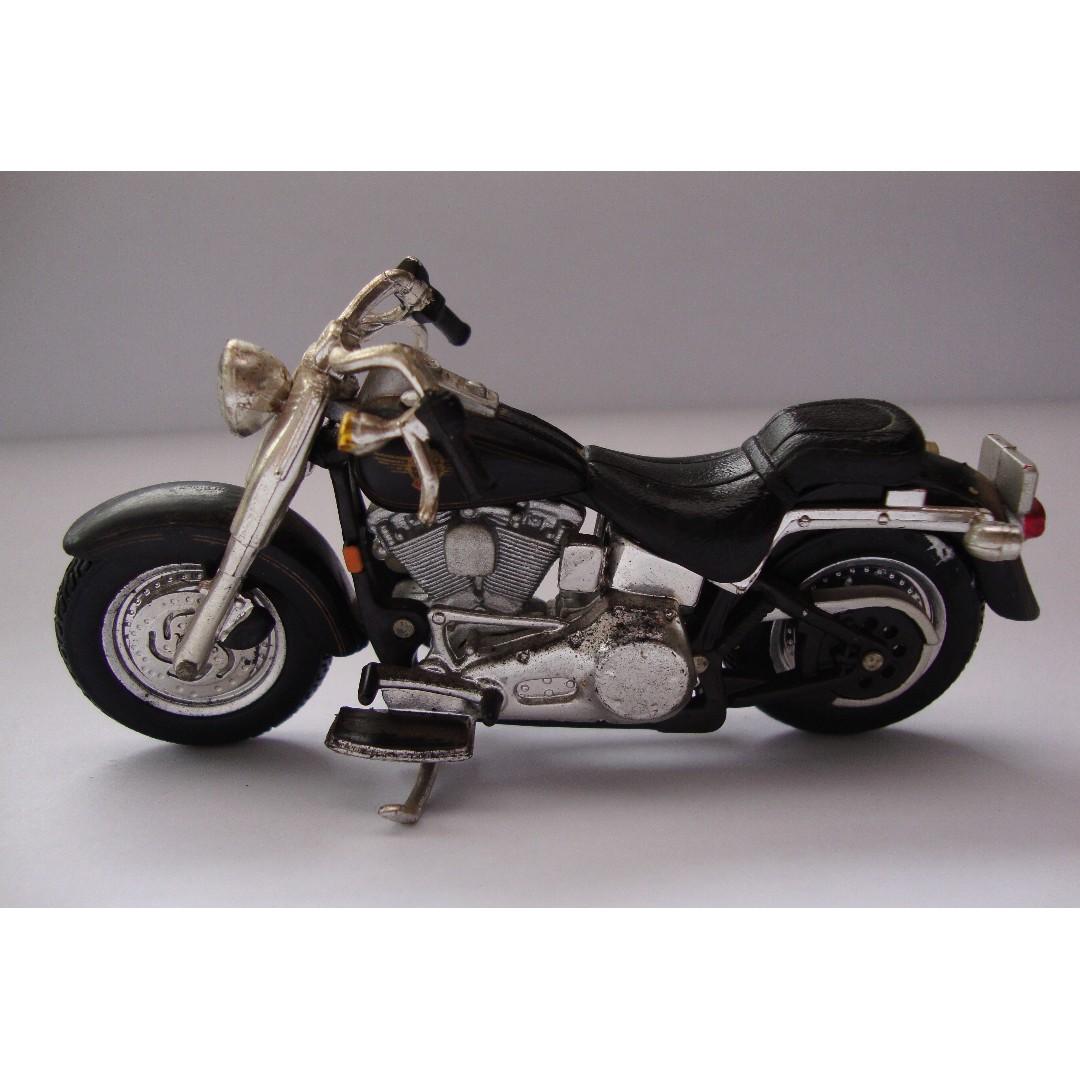 Miniatur Harley Davidson Black