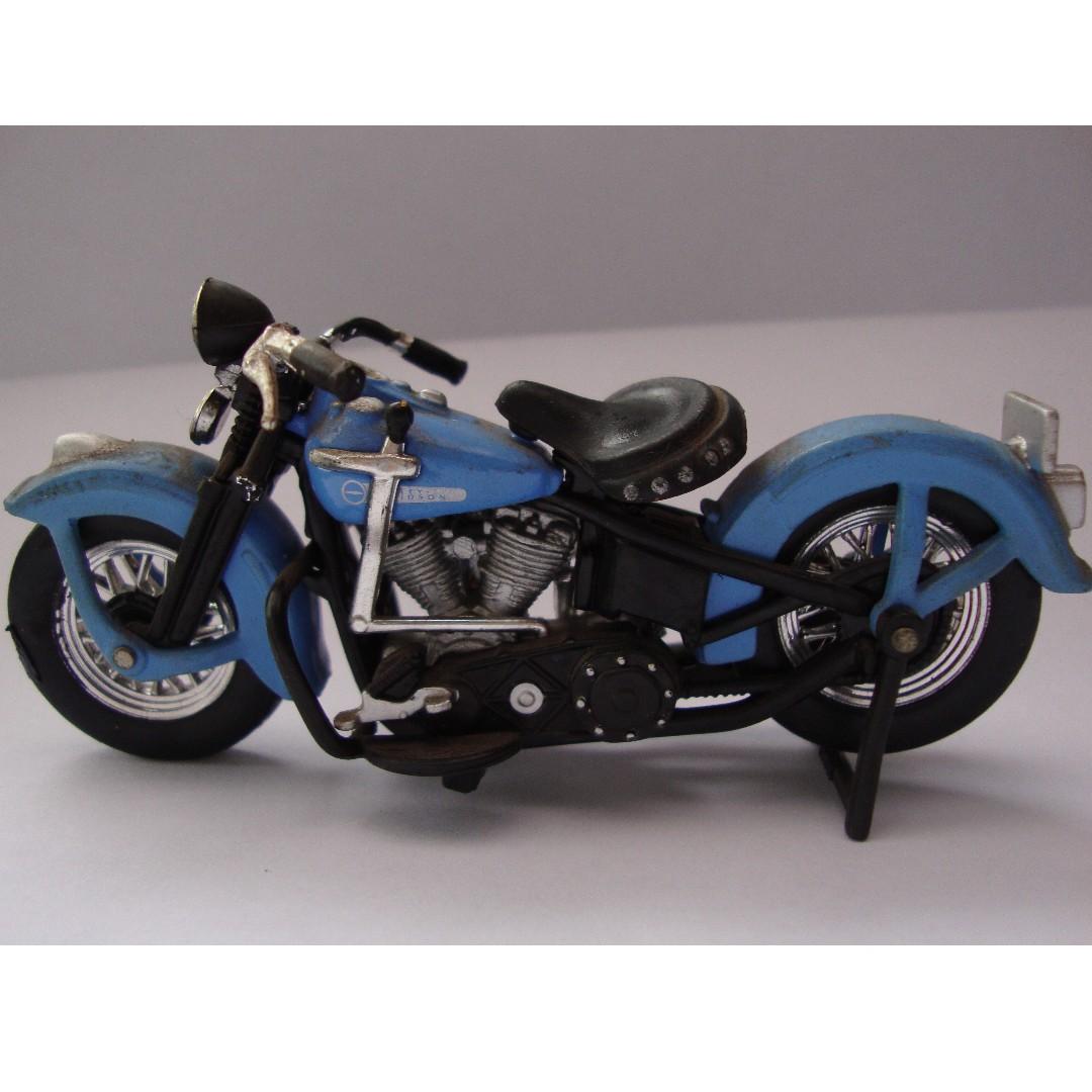 Miniatur Motor Harley Davidson Blue