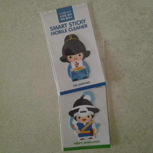 Mobile phone cleaner (made in Korea) (new, sealed)