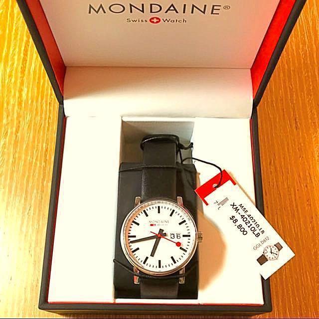 MONDAINE 瑞士國鐵 時光走廊腕錶 (中性錶)