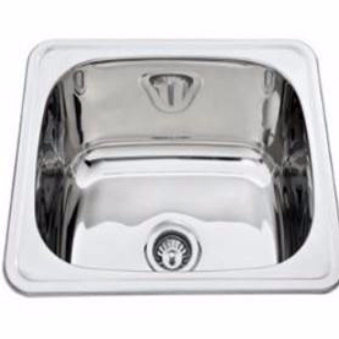 Monic I-600 Kitchen Sink - Inset Mount Single Bowl, Home Appliances ...