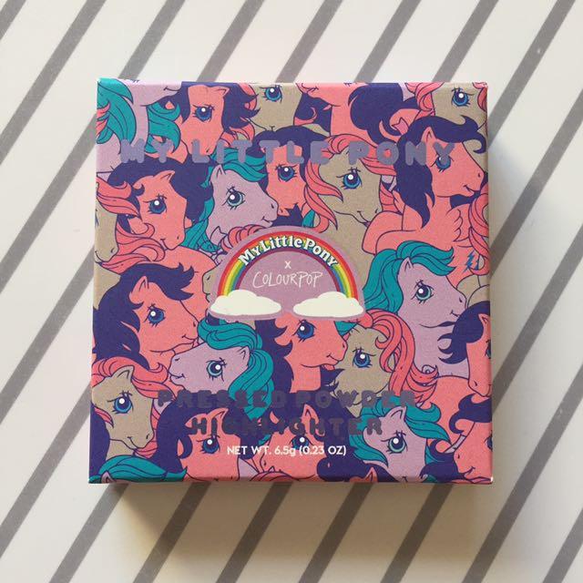 My Little Pony X Colourpop Starflower Highlighter