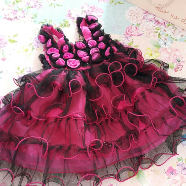 Never used. Baby dress