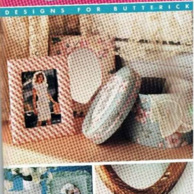 New Butterick 4349 Better Homes and Gardens pattern - Assorted Frames UNCUT