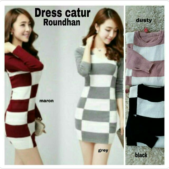(NEW) Catur Roundhan Dress