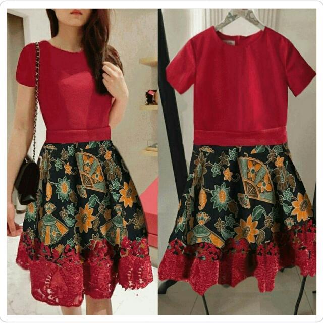 (NEW) Ella Selly Red Dress
