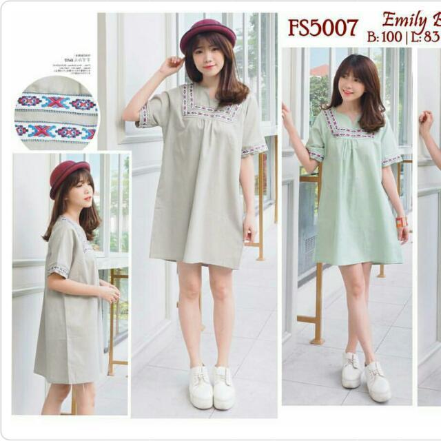 (NEW) Emily Boho Mocca Dress