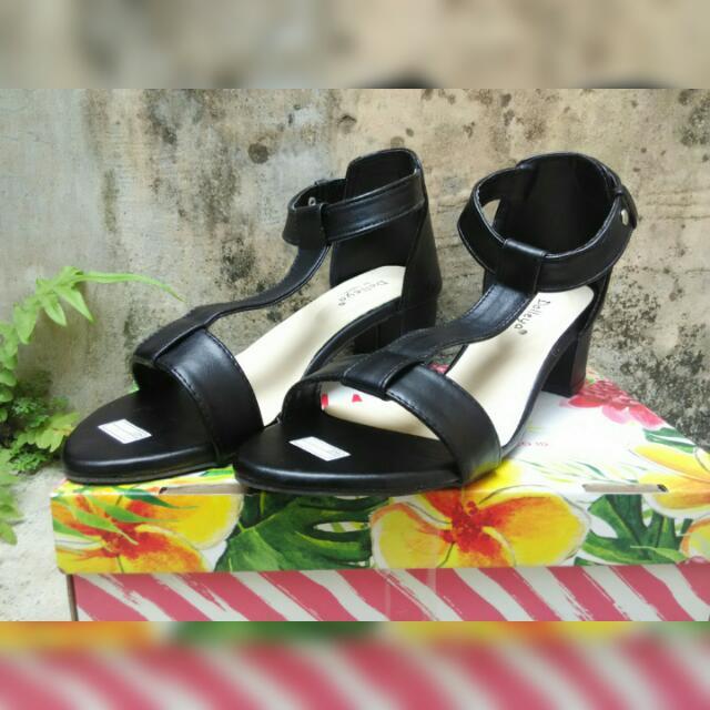New High Heels T Hitam Uk 40