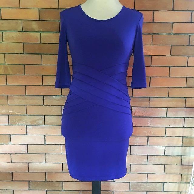 NEW Karimadon Halter Fitted Dress