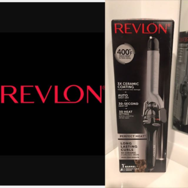 New Revlon ceramic hair curler
