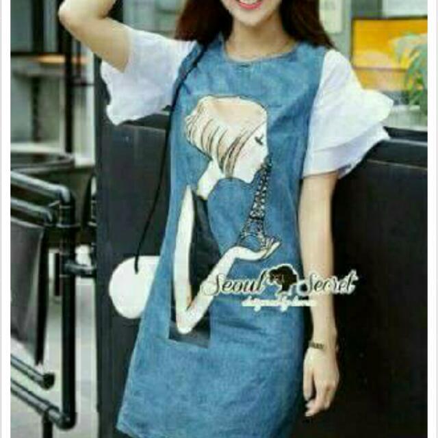 (NEW) Seoul Secret Paris Dress